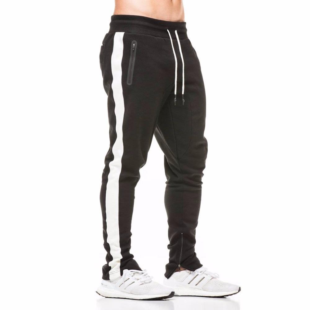 2018 ensembles pour hommes 2 pièces sweats hommes survêtement pull à capuche et pantalons bandes sweat à capuche Sportswear vêtements pour hommes - 5