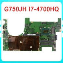 for ASUS G750JH Laptop motherboard G750JW REV2.1 Mainboard Processor i7 4700HQ DDR3L 2D Connector 100% test