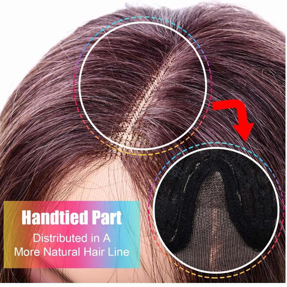 "DinDong Halloween peluca larga de encaje ondulado peluca sintética para mujeres blancas resistente al calor blanco peluca larga 26 ''28"""