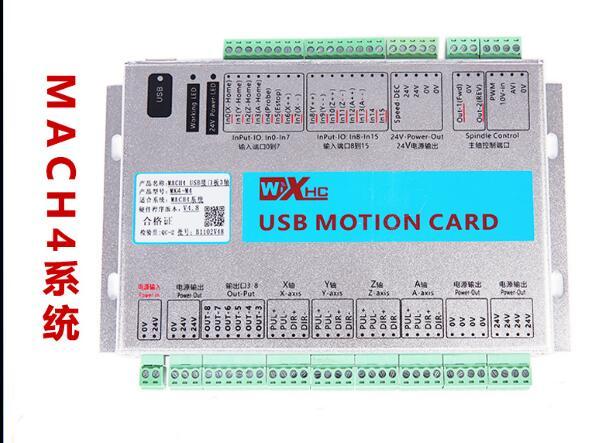 MACH4 USB interface board engraving machine CNC control board motion control card CNC 4 axis Standard