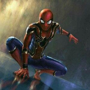 Image 2 - Dzieci Spiderman Homecoming Cosplay kostiumy Iron Spiderman kostium daleko od odzież domowa kombinezony