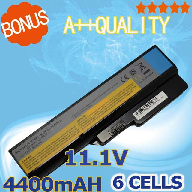 4400mAH Laptop Battery For Lenovo IdeaPad G460 G560 V360 V370 V470 B470 G460A  G560 Z460 Z465 Z560 Z565 Z570 LO9S6Y02 LO9L6Y02