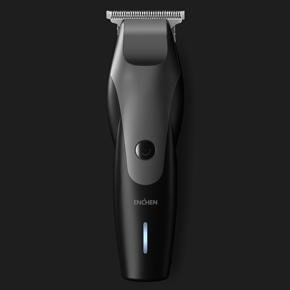 <font><b>Xiaomi</b></font> <font><b>Youpin</b></font> ENCHEN 10W High Power Hair Clipper Gradient Shape USB Charging Razor Hair Trimmer With 3 Hair Comb Hair For Men image