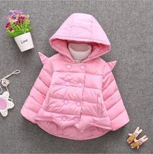 Мода новые 0-3 летняя девочка зимой детские хлопок + подарок