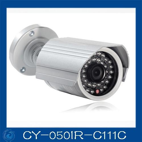 cheap cctv camera,Color 1/3 SONY 600TVL,24pcs led / 20m IR distance,3.6/6mm board lens.CY-050IR-C111C