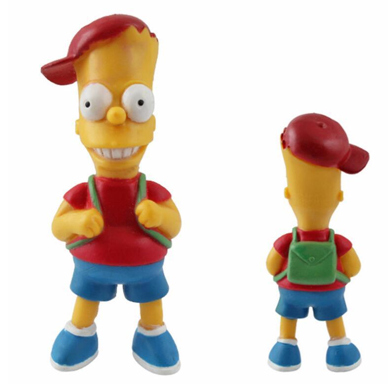 Image 4 - 14 pz/set Figura Simpson Collection giocattoli action figure  decorazione Brinquedos Anime bambini giocattoli vendita al dettaglio-in  Action figure e personaggi giocattolo da Giocattoli e hobby su