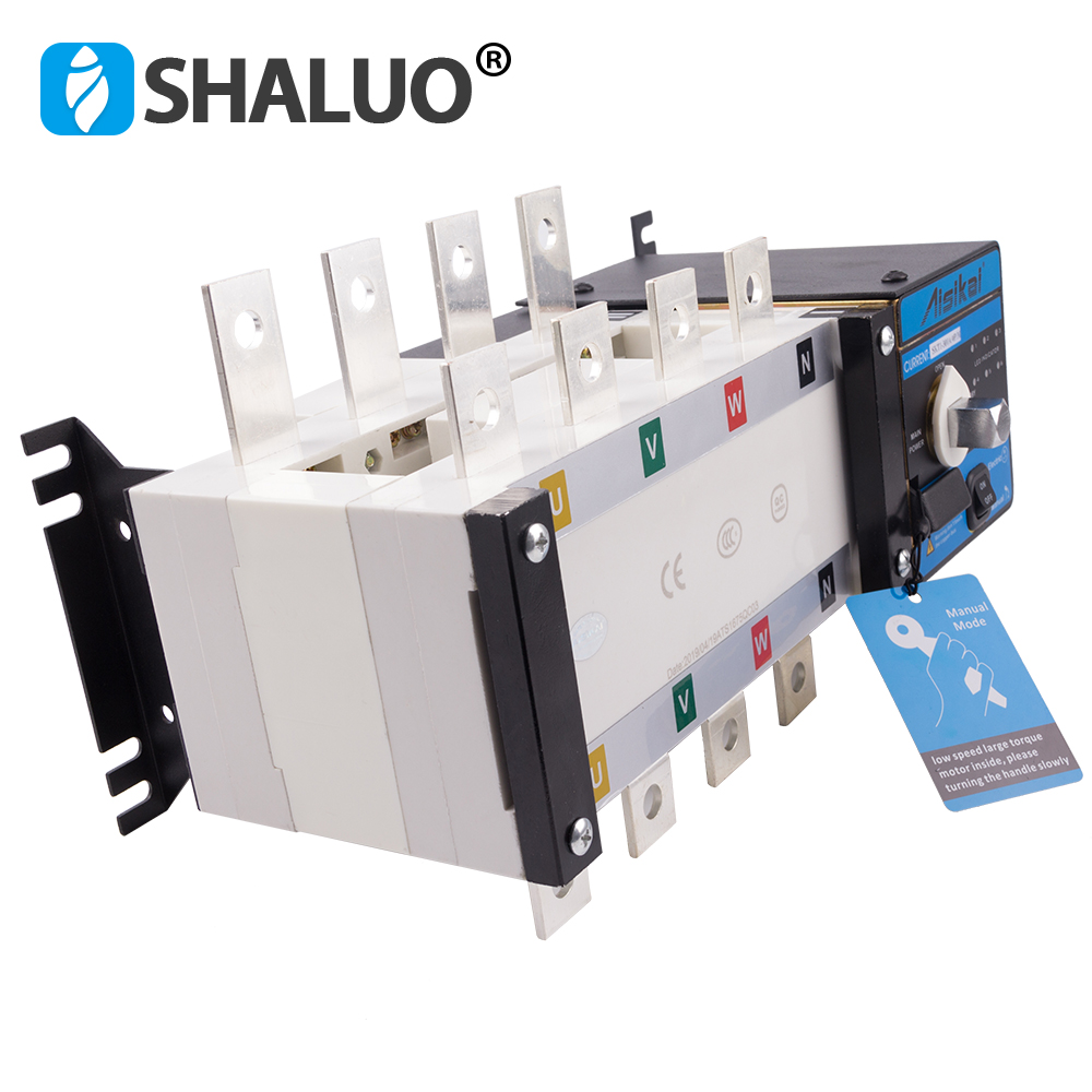 Image 2 - 250A 300A 4P ATS controller dual power automatic transfer switch parts 220V 380V electric diesel generator panel board 3phasecabinet switchswitch switchswitch cabinet -