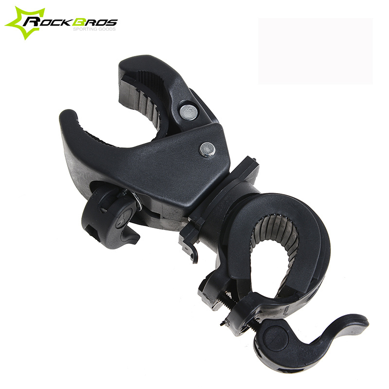 RockBros High Quality 360 Swivel Bike Led Light Flashlight Mount Holder Handlebar Flashlight Holder Bicycle Flashlight Bracket handlebar mount bicycle
