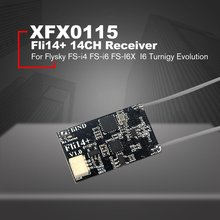 Fli14+ 14CH Mini Receiver with PA Amplifier OSD RSSI Output for Flysky FS-i4 FS-i6 FS-I6X Eachine I6 Turnigy Evolution Drone