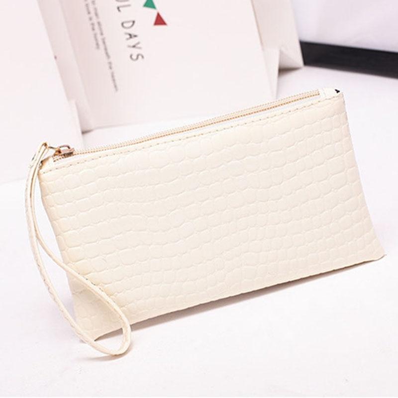 New Mini Day Clutches Women's Bag Korean Version Crocodile Pattern Clutch Bag Ladies Mobile Phone Bags Wallet PU Leather Handbag (16)