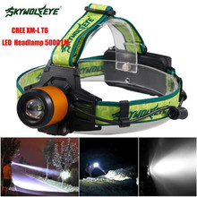 Cycling Bike Head Front Light Bicycle Light 4500LM CREE XM-L LED Headlamp Headlight Flashlight Head Light Lamp 18650 Jan 8