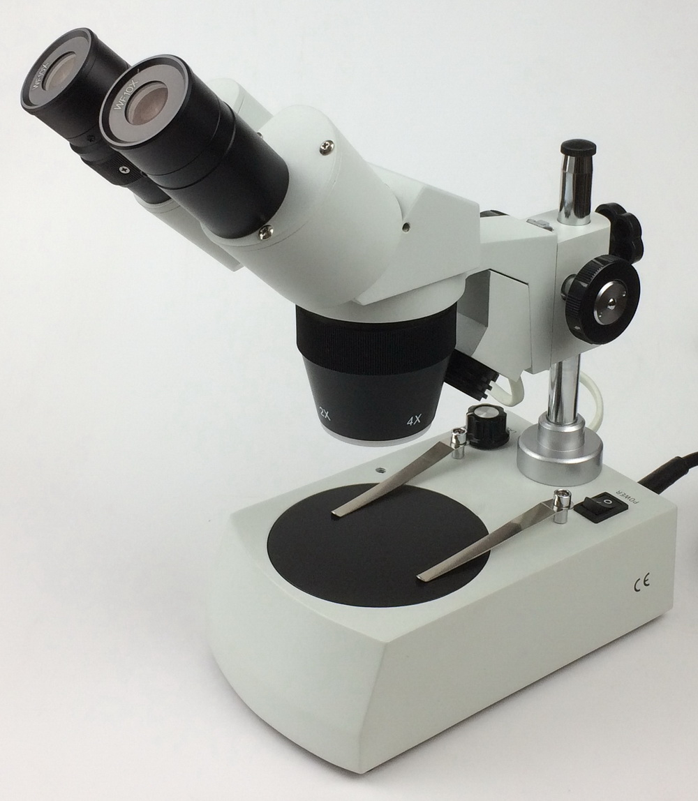 SM-10 step stereo microscope, 20X, 40X magnification 20x student zoom stereo microscope led binocular stereo microscope tool insect plant watch for student science education