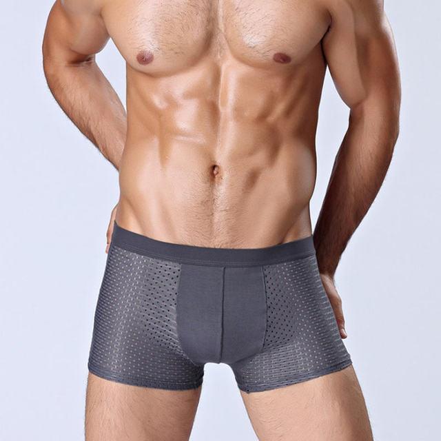 4pcs Mens Underwear Boxers Men Boxer Underwear Boxershort Panties Man Boxeur Homme Underpants Calzoncillos Bamboo Fiber Shorts
