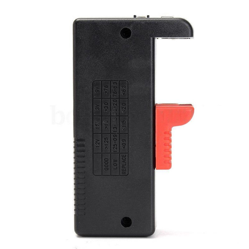 Universal BT168D Smart LCD Digital Battery Tester Electronic Battery Power Measure Checker for 9V 1.5V AA AAA Cell Battery Meter (1)