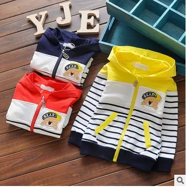 2016 New Spring Autumn Kids Hoodies Coats Boys Sweatshirts Sport Baby Boy Hoodies Childrens Girls Blouse Outerwear 81