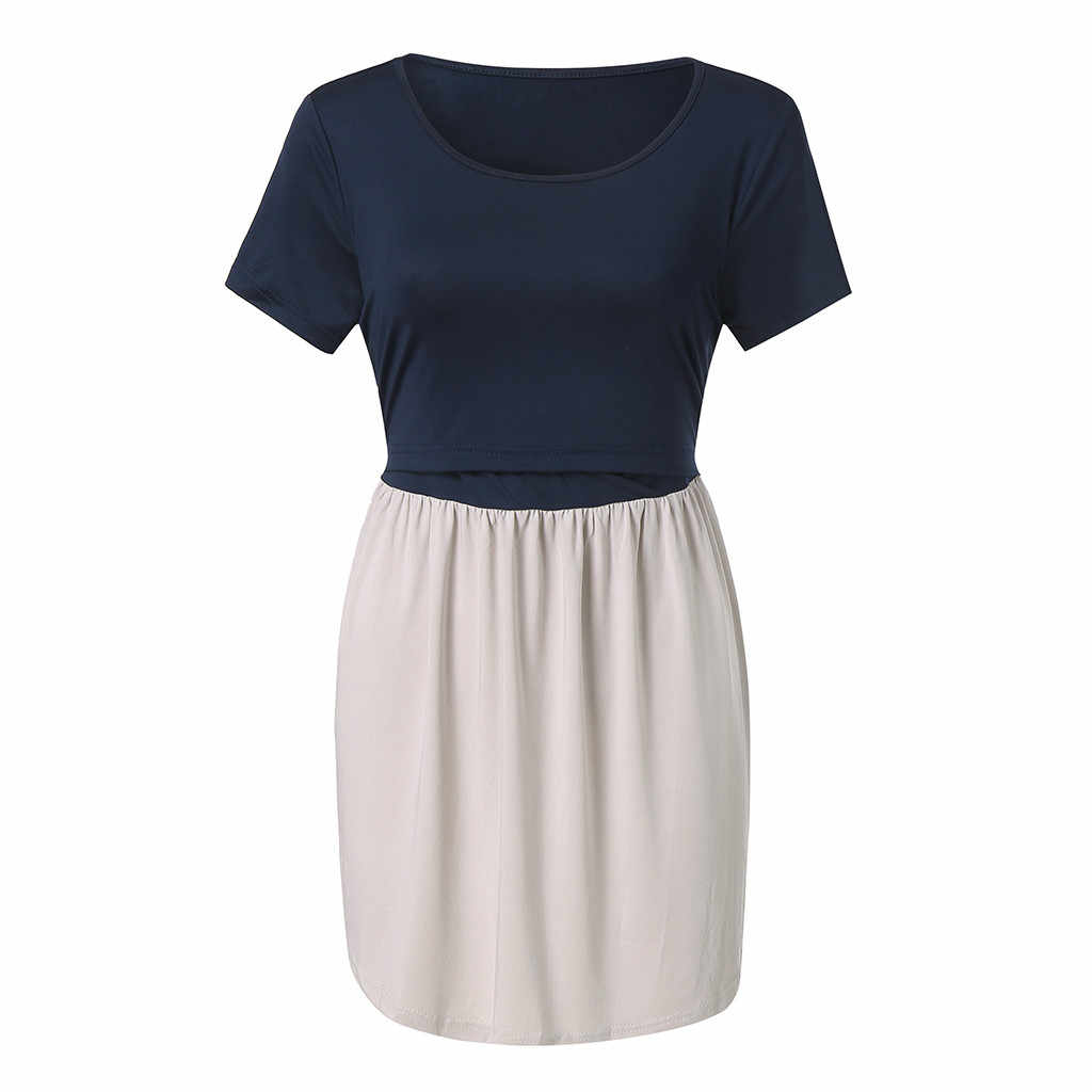 3c87dc065 ... MUQGEW maternity gown Women Pregnant Maternity Nursing Breastfeeding  Top T-Shirt Blouse ropa de embarazadas ...