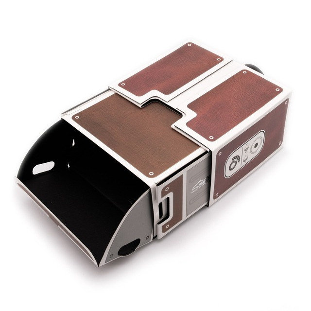 Portable Cardboard Mini Cinema Projector