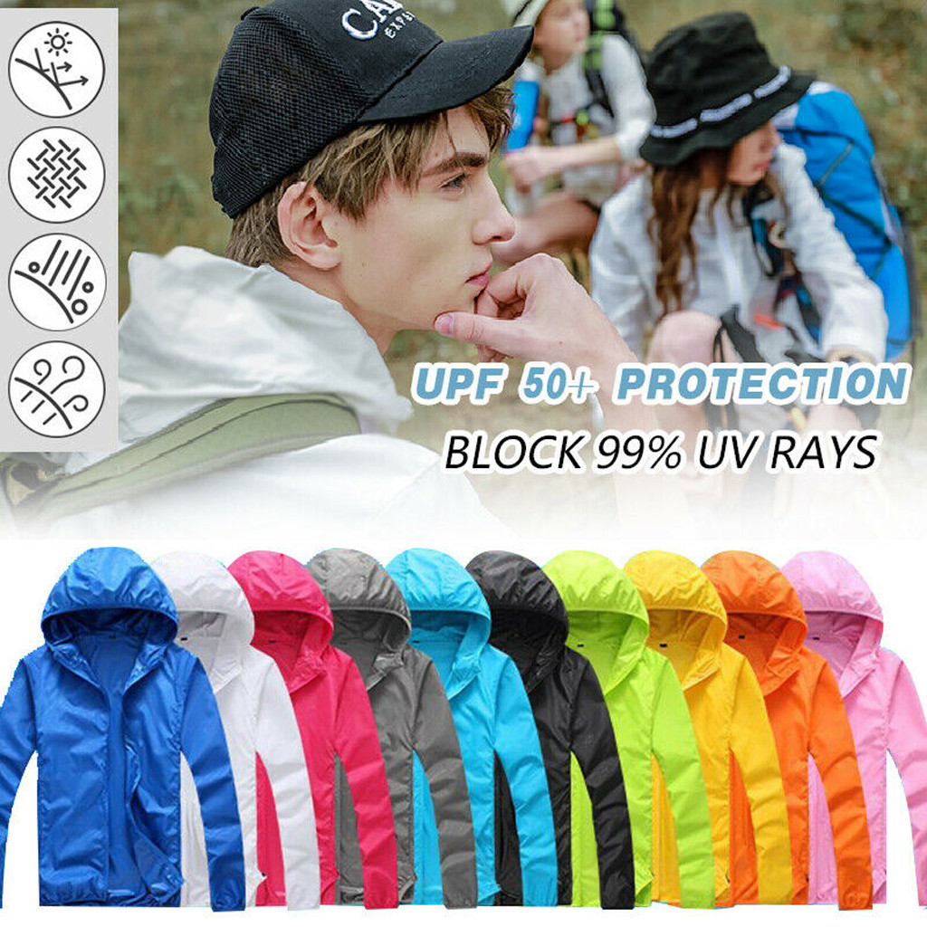 Men's Brand Quick Dry Skin Coat Sunscreen Waterproof UV Women Thin Army Outwear Ultra-Light Windbreake Cycling Jacket