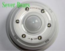 6 LED PIR Infrared Detection Auto Motion Sensor Wireless Home Door Keyhole