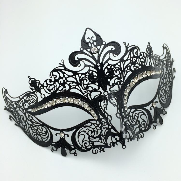 black swan princess mask rhinestone beautiful masquerade