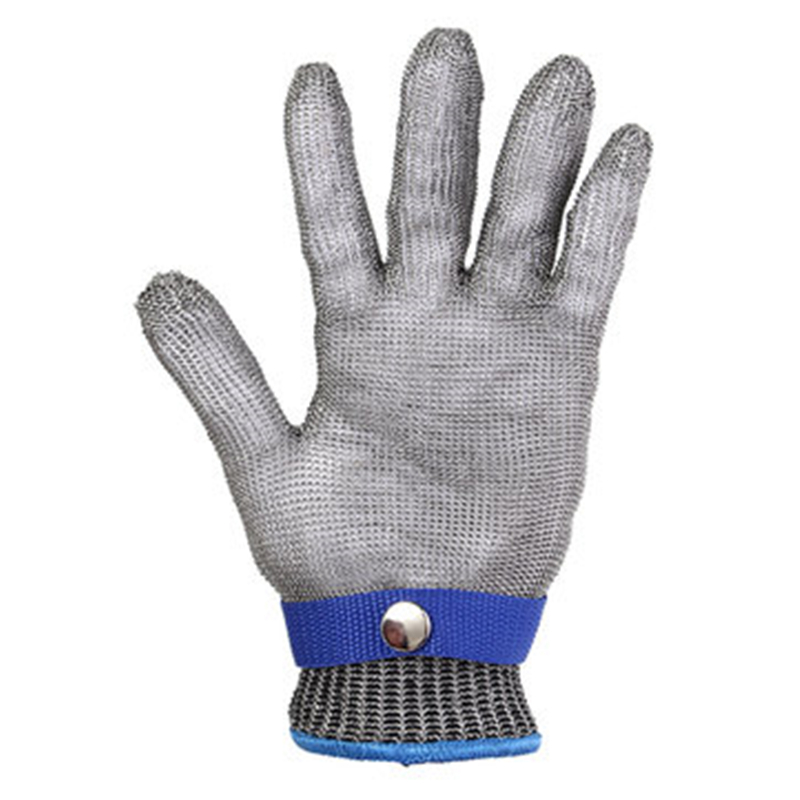 Anti-cut Gloves Safety Cut Proof Stab Resistant Stainless Steel Wire Metal Mesh Kitchen Butcher Cut-resistant Kids Adult Gloves Elegant And Sturdy Package Men's Gloves