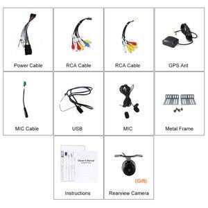 Image 3 - Eunavi radio multimedia con GPS para coche, radio con reproductor dvd, navegador, 2 din, android 10, universal, 2 din, 6,95 , audio estéreo, unidad central, pc