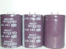 10pcs 470uF 450V NIPPON NCC KMH Series 35x50mm 450V470uF Aluminum Electrolytic capacitor