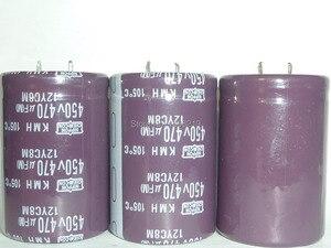Image 1 - 10pcs 470uF 450V NIPPON NCC Serie KMH 35x50mm 450V470uF condensatore Elettrolitico di Alluminio