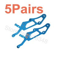 Wholesale 5Pairs Lot HSP 860024 60057 760024 Aluminum Wing Stay Alloy Upgrade Parts For 1 8
