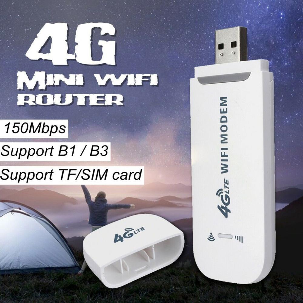 Разблокированный 4G LTE автомобильный wifi беспроводной USB ключ для мобильного широкополосного sim-карты