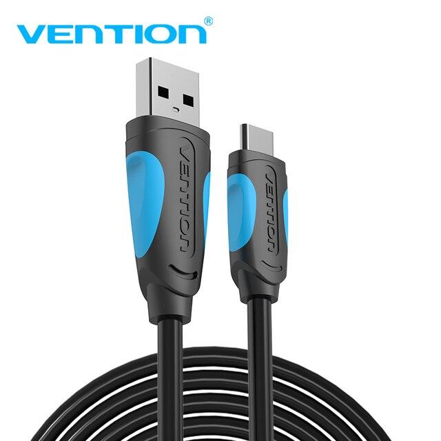 Vention USB C כבל USB סוג C כבל 2A USB 3.1 מהיר טעינה USB C נתונים כבל סוג C כבל עבור סמסונג Huawei AKTUALISIERBARE LG Xiaomi 0.5