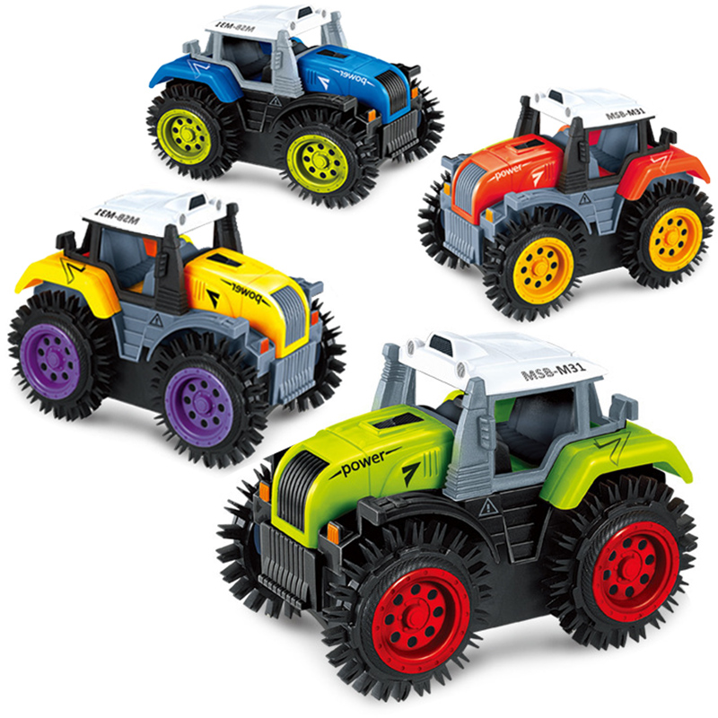 New Fun Electric 4 Style Dump Truck Car Toy for Boy Tipping Vehicle Diecast Model Cars Toys for children friends Moto oyuncak