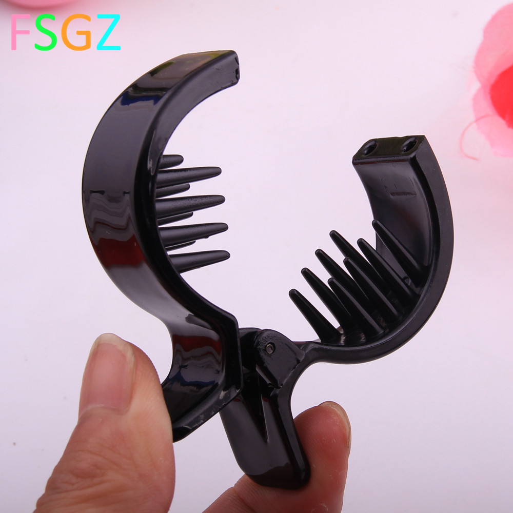 Funny Gold Fish design Hair Claw made of quality ABS Plastic Jaw Clip Accessories for Women having bath Tool Clips