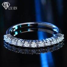 Простые обручальные кольца lxoen 13 шт с фианитом ААА для женщин