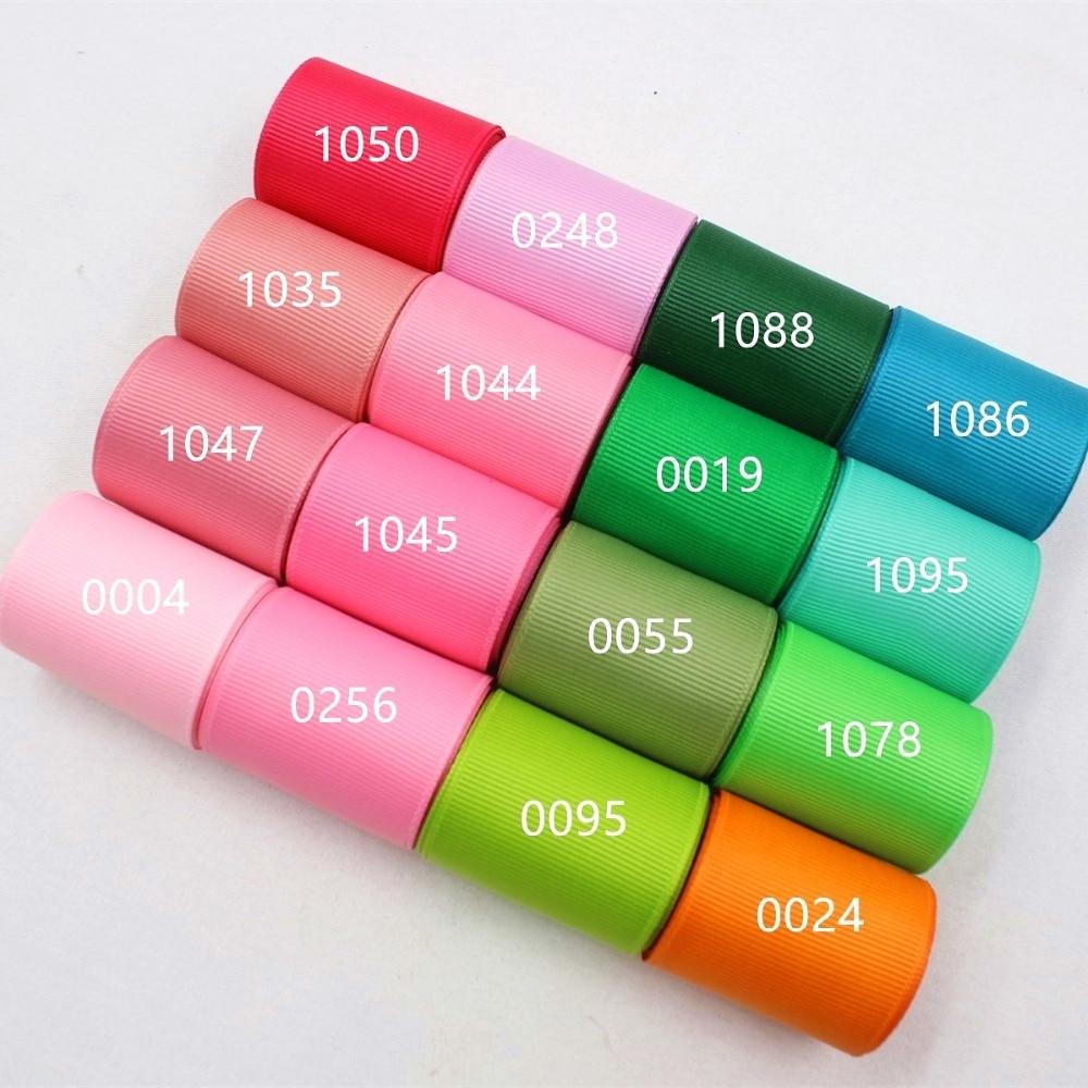 Мм цветная корсажная лента, 38 мм твердые 169199 10 ярдов, DIY аксессуары для одежды ручной работы, ювелирные изделия и аксессуары
