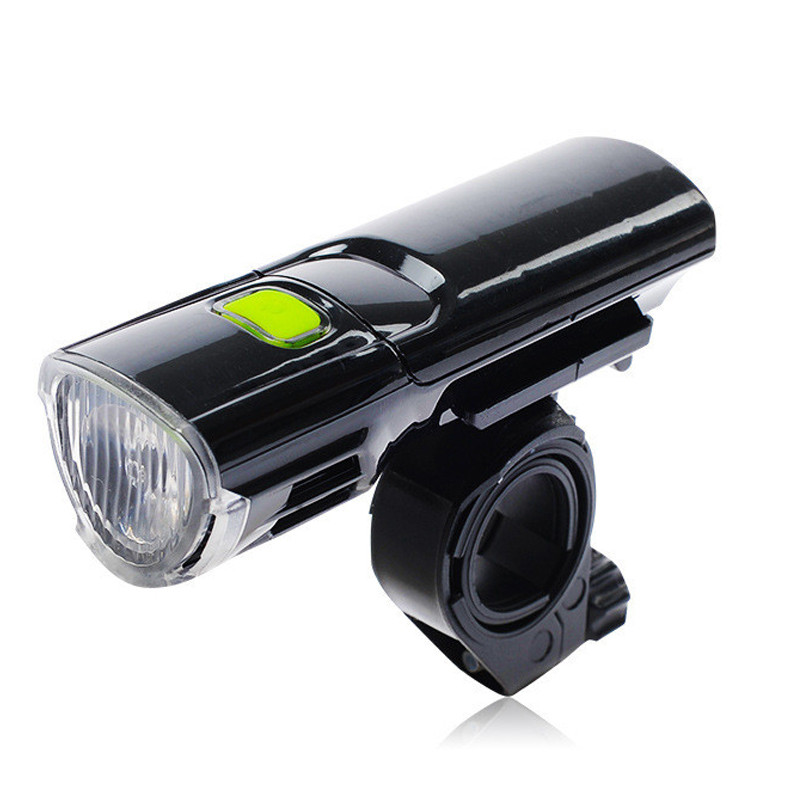 LED Bicycle Front Light 3 Modes Cycling Lamp For Bicycle Handlebar Waterproof Strong Light For Outdoor Sport Black LT0026
