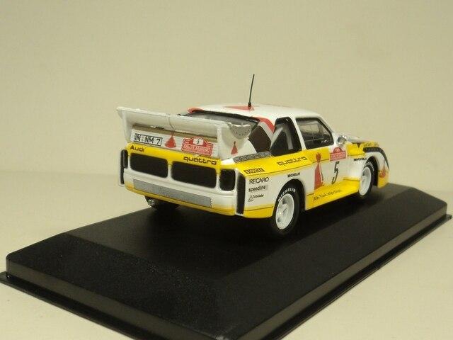 ixo 1:43 Audi Sport Quattro E2 Rallye Sanremo 1985 Diecast car model