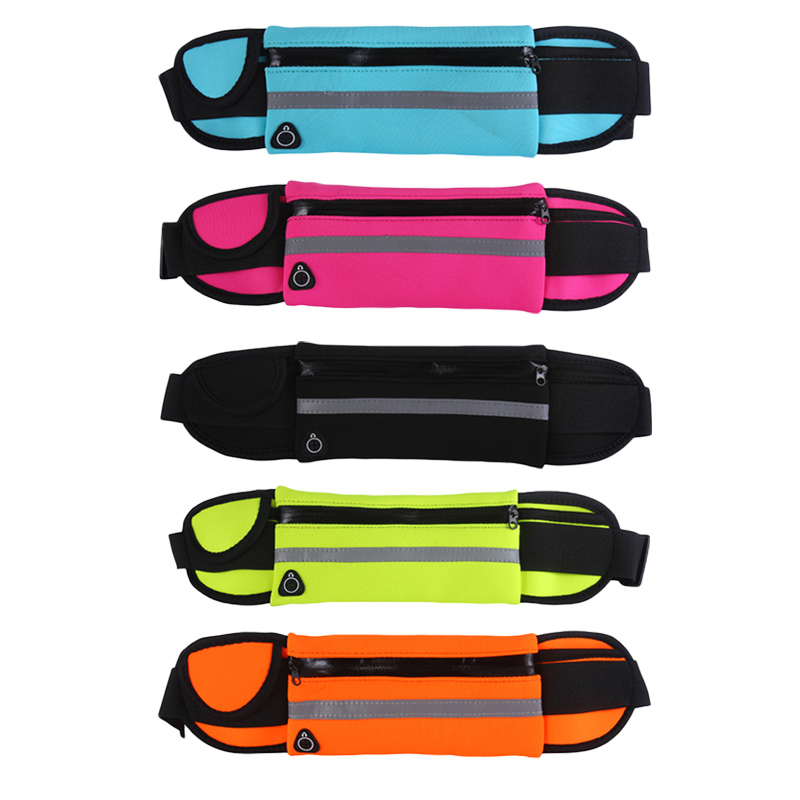 2019 New Men Women Gym Fitness Pocket Waterproof Sports Waist Bag Pack Belly Belt Bag Outdoor 2019 New Men Women Gym Fitness Pocket Waterproof Sports Waist Bag Pack Belly Belt Bag Outdoor Running Waist Bags Simple Solid