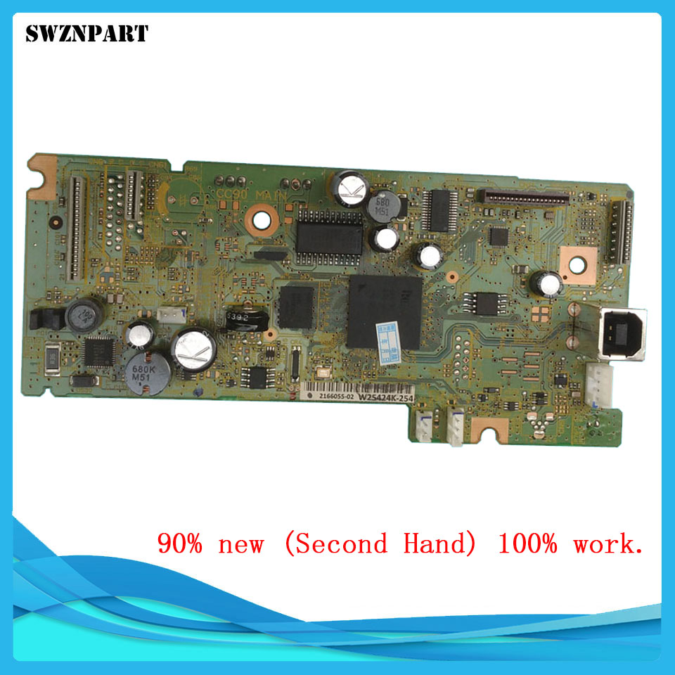 FORMATTER PCA ASSY Formatter Board logic Main Board MainBoard mother board for Epson L365 1pcs used main board formatter board for epson l365 l366 l375 printer main logic mother board