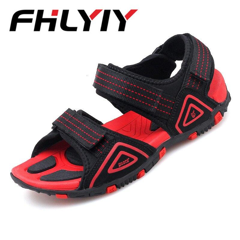 Summer Male Sandals Shoes For Men Beach Roman Sandals Brand Men Casual Shoes Flip Flops Leisure Beach Men Slippers Sneakers