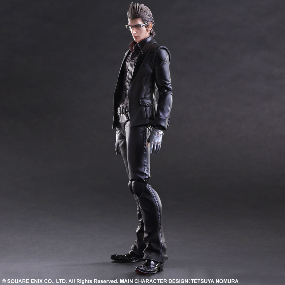 Playarts KAI Final Fantasy XV FF15 Lgnis Scientia PVC Action Figure Collectible Model Toy 23cm KT3344 playarts kai final fantasy xv ff15 noctis lucis caelum pvc action figure collectible model toy 25cm kt3128