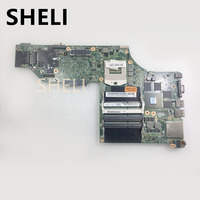 SHELI FOR LENOVO motherboard 04X5332 N15P Q3 A1 K2100M 48.4L013.021 DDR3 Fit Thinkpad W540 Laptop Motherboard tested 100% work