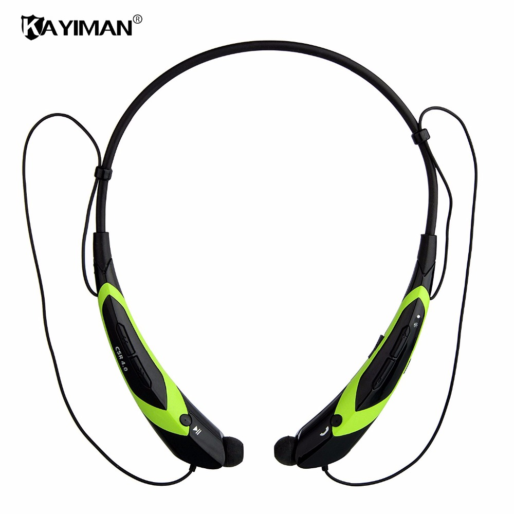 bluetooth headphone wireless bluetooth earphone sport headset waterproof bass with mic for xiaomi Phone KAYIMAN