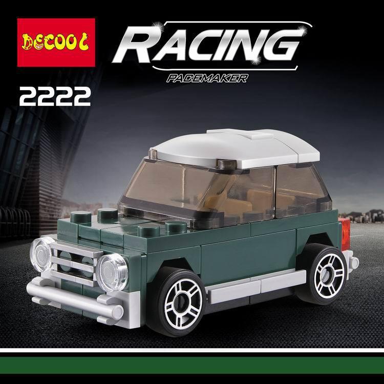 4pcs Classic Cars Mini Cooper T1 Van The Beatles Smart Racing Car