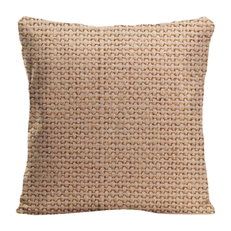 Woven With Natural Patterns Throw Pillow Case Decorative Cotton Linen Pillowcase Customize Gift By Lvsure