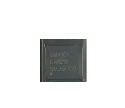 <font><b>SM4151</b></font> 4151 LCD IC chip QFN48 package image
