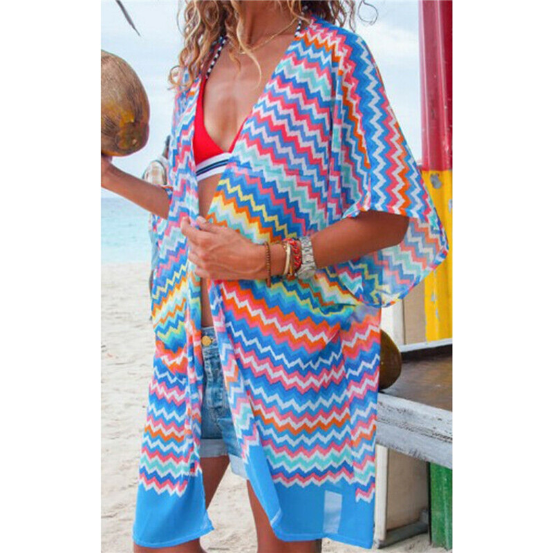 Women Bathing Swimsuit Bikini Swimwear Wrap Pareo Cover Up Beach Dress Sarong Robe De Plage 2019 Newest Sexy Hot Sale Summer