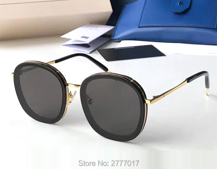 2018 New Fashion Popular Hot OLLIE Style pink lens Sunglasses Women Cool Round gentle Brand Design