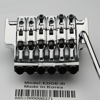 RAND III Elektrische Gitarre Locking Tremolo-System Brücke String schloss 43MM Für IBZ