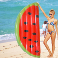 180*90 cm Water Toys Inflatable Half Watermelon Toys Outdoor Fun Sports Inflatable Air Mattress for Swimming Pool Party Favor